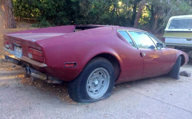 Ford Pantera For Sale >> Sad Supercar 1971 De Tomaso Pantera