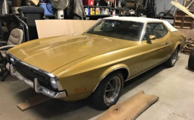 Well Preserved 1972 Ford Mustang
