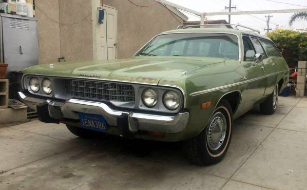 Carol Brady Cruiser: 1973 Plymouth Satellite Wagon