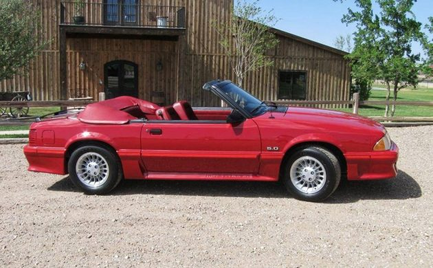 READER AD: 1987 Ford Mustang With 820 Miles!