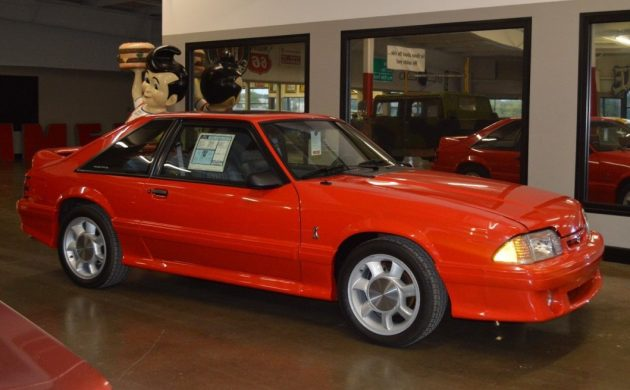 New 1993 Ford Mustang? 800 Mile Survivor!
