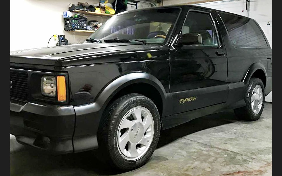 Sport Cars For Sale >> Jimmy's Got A Wild Side: 1993 GMC Typhoon