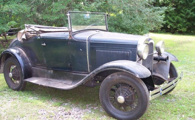 Ready To Ramble: 1930 Ford Model A Roadster