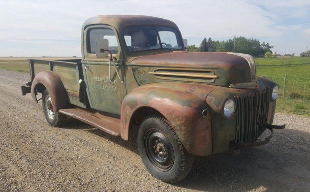 Jail Bar Barn Find: 1947 Ford 1 Ton