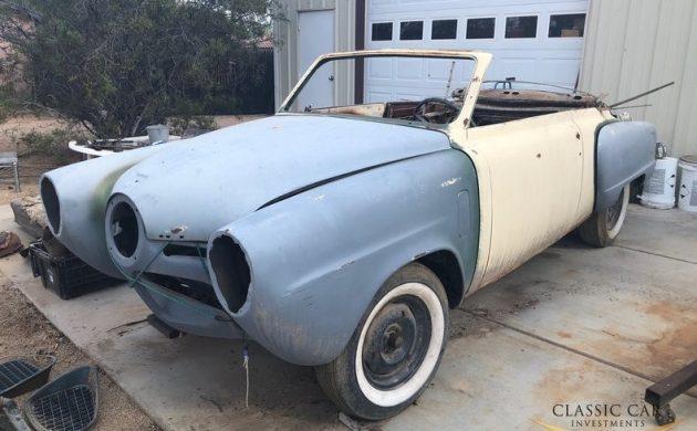 Breezy Bullet Nose: 1950 Studebaker Champion Convertible