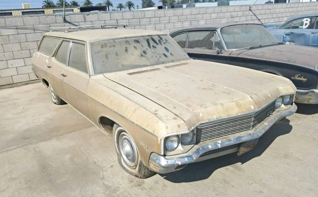Cali Barn Find: 1970 Chevrolet Kingswood 350