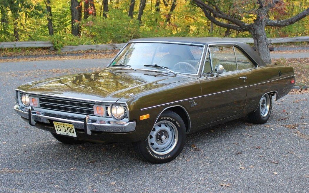 36 538 Miles 1972 Dodge Dart Swinger