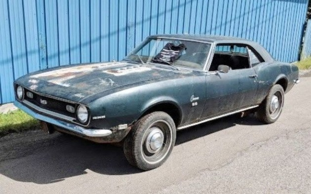 Rusty But Honest 1968 Chevrolet Camaro Ss 396