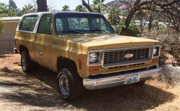 Reader Ad: 1974 Chevrolet K5 Blazer 4×4