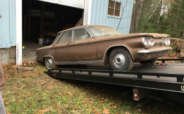 Bronze Barn Find: 1964 Chevrolet Corvair