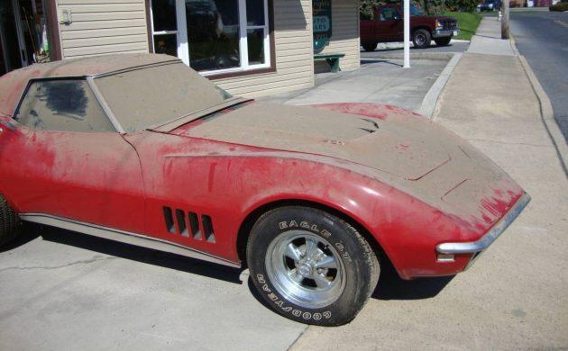 427 Corvette Convertible Barn Find?