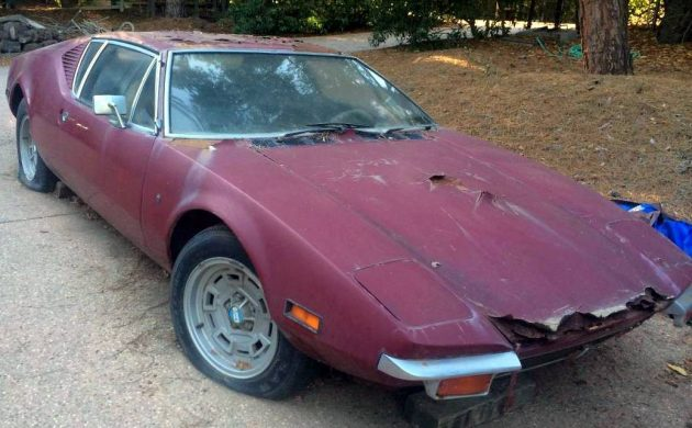 Sad Supercar 1971 De Tomaso Pantera