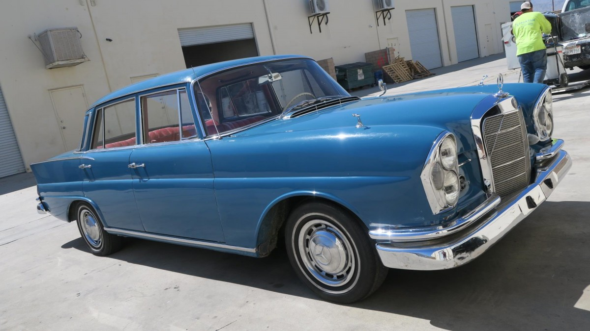 Fabulous Fintail  1962 Mercedes
