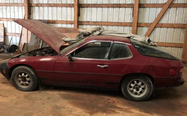 Abandoned for 20 Years: 1977 Porsche 924