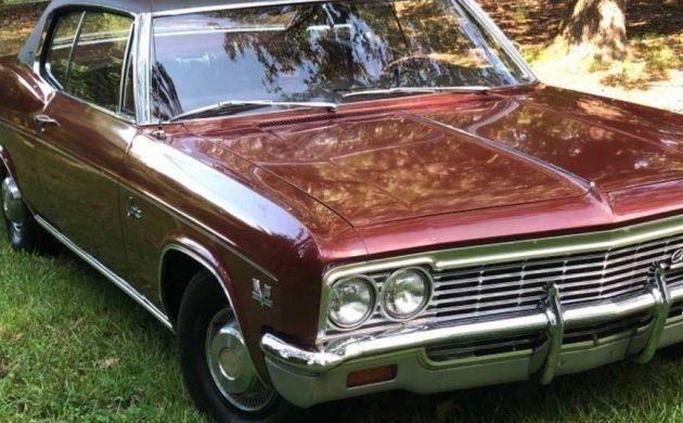 A/C & Original Paint: 1966 Chevrolet Caprice 396!