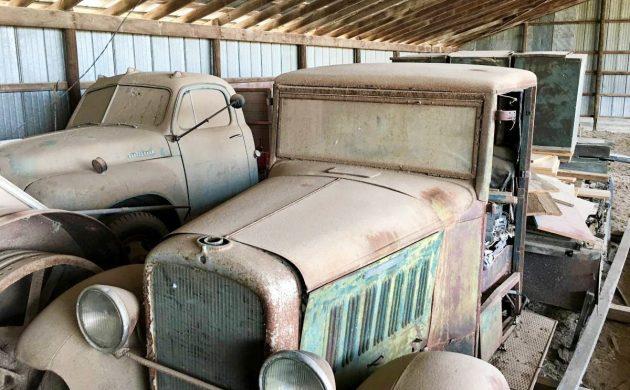 Stash Of 1932 To 1962 Studebaker Trucks