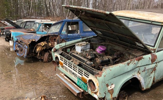 Collection of Eight Vintage Broncos!