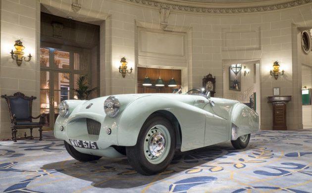 Important Triumph! 1953 Jabbeke TR2