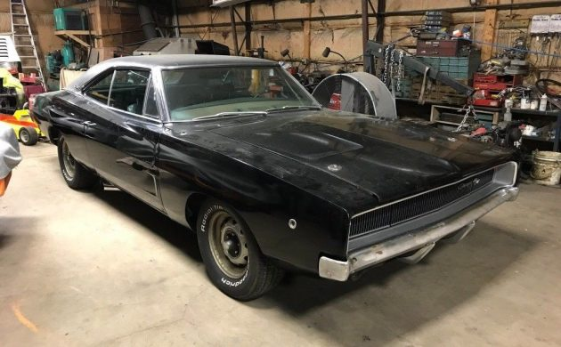 Triple Black Beauty: 1968 Dodge Charger
