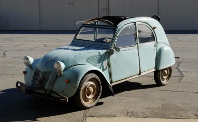 French Vacation: 1958 Citroen 2CV