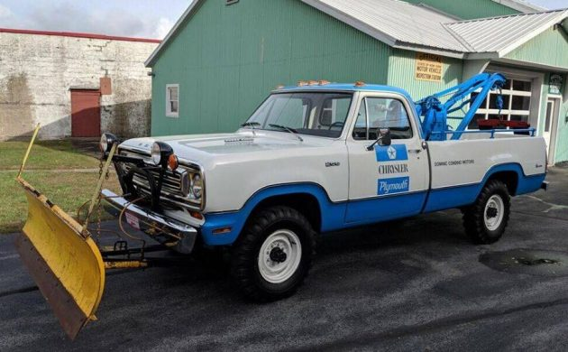 1972 Dodge Power Wagon Tow Truck With 7K Miles!