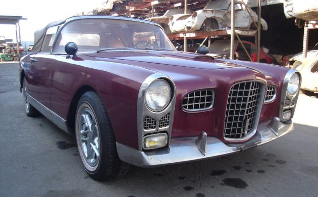Convertible Conversion: 1956 Facel Vega FV2