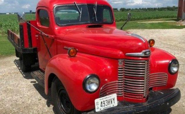 Restored 40 Years Ago: 1946 International Truck
