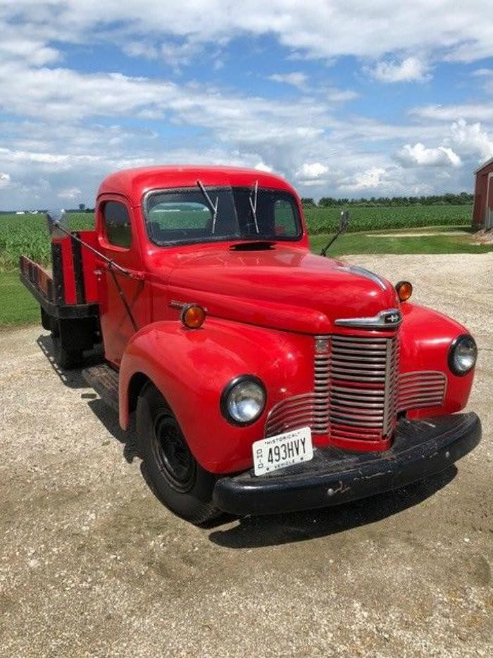 Restored 40 Years Ago 1946 International Truck
