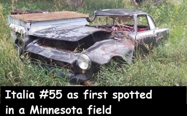 Rare, Rusty And Wrecked: 1960 Triumph Italia #55