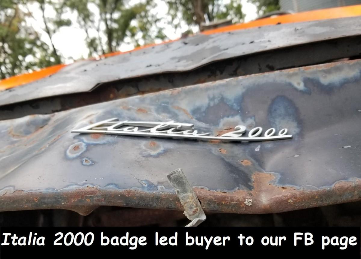 Rare Rusty And Wrecked 1960 Triumph Italia 55