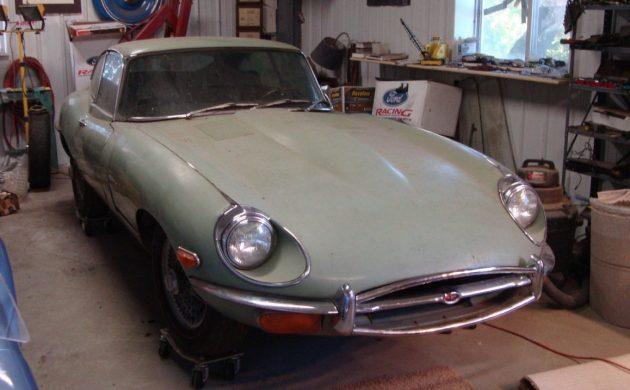 Seized Big Cat: 1969 Jaguar E-Type