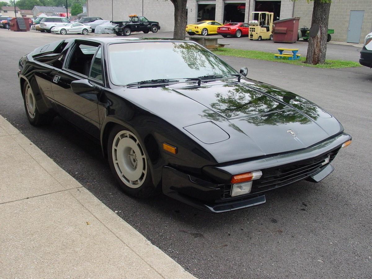 No Reserve Lambo 1986 Lamborghini Jalpa Project