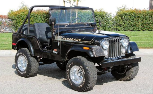 It's In The Jeans: 1975 Jeep CJ5 Renegade Levi Edition