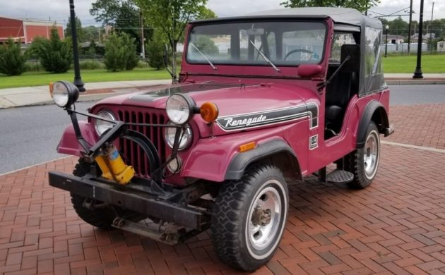 Factory Colors and Stripes: 1974 Jeep Renegade