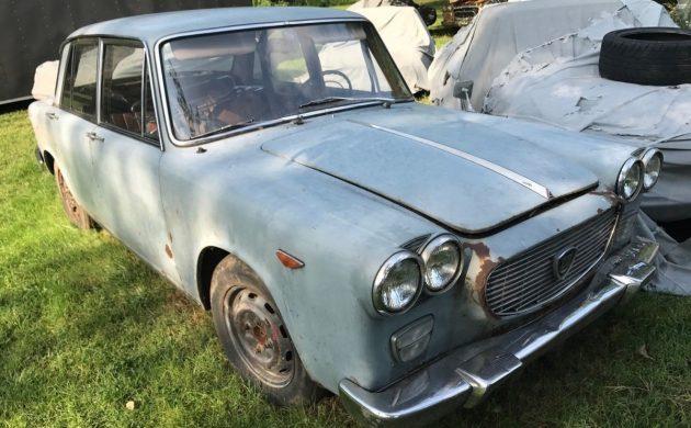 Designer's Delight: 1963 Lancia Flavia Berlina