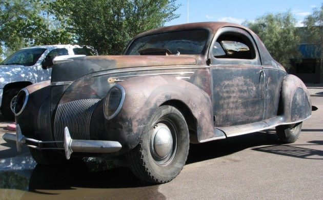 Barn Find 1939 Lincoln Zephyr Coupe