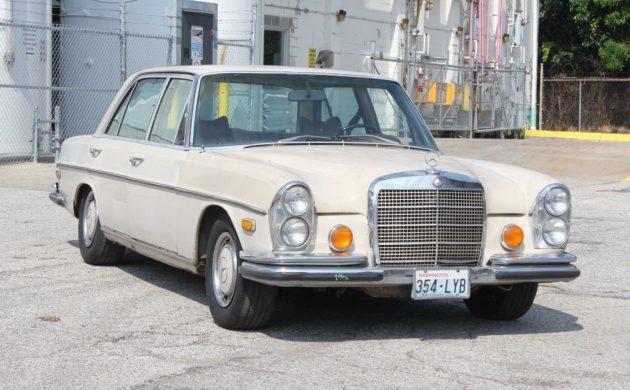more popular overseas: 1971 mercedes 300sel