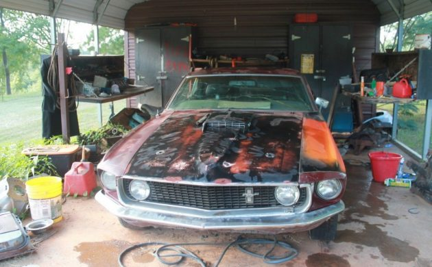 Matching Numbers Mustang: 1969 Ford Mustang Fastback
