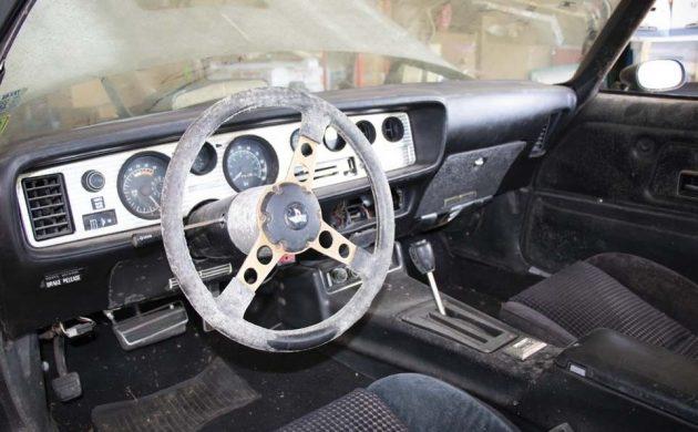Sitting For A Decade: 1977 Pontiac Trans Am SE
