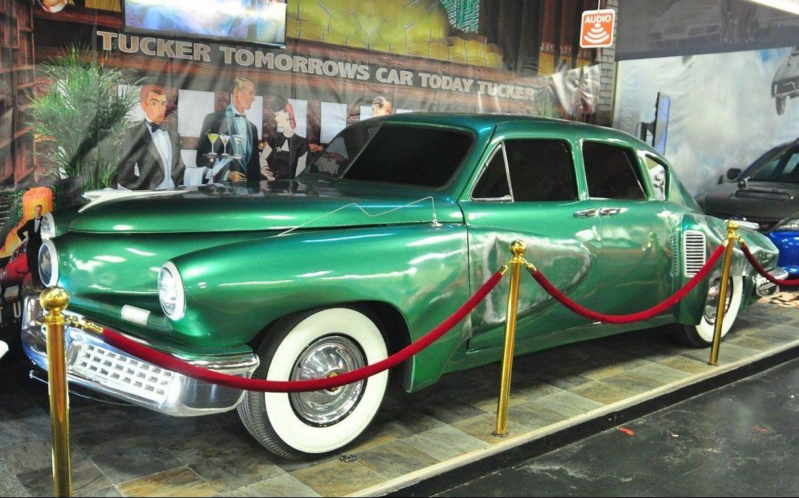 Tucker Car For Sale >> Star of the Silver Screen: Tucker 48 Movie Car