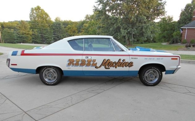 Unrestored With 8,700 Miles! 1970 AMC Rebel Machine