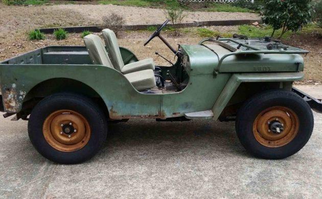 Don't Restore It: 1946 Willys CJ2A