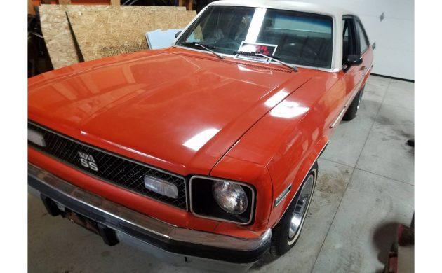 350 V8 4-Speed: 1976 Chevrolet Nova SS