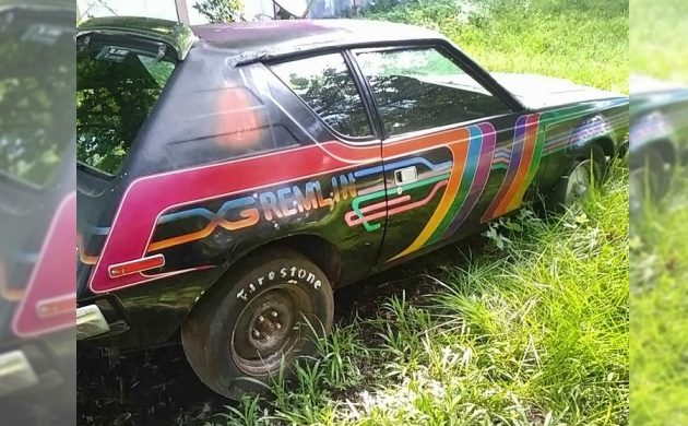 what a drag  1973 amc gremlin x racer