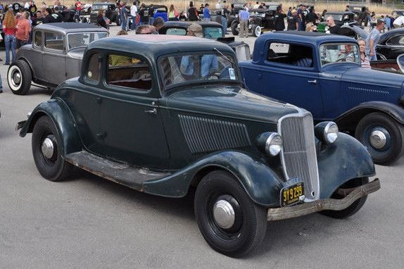 Hot Rod History! 1933 Ford Standard Coupe