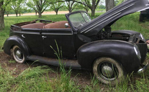 Tragedy Unfolded: 1939 Ford Convertible Sedan