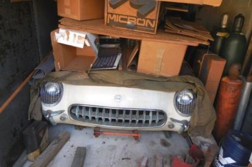 Parked for 53 Years! Update: 1954 Chevrolet Corvette