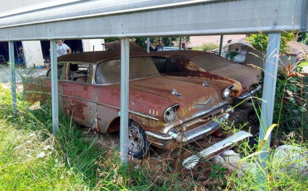 Carport Find! 1957 Chevrolet Bel Air