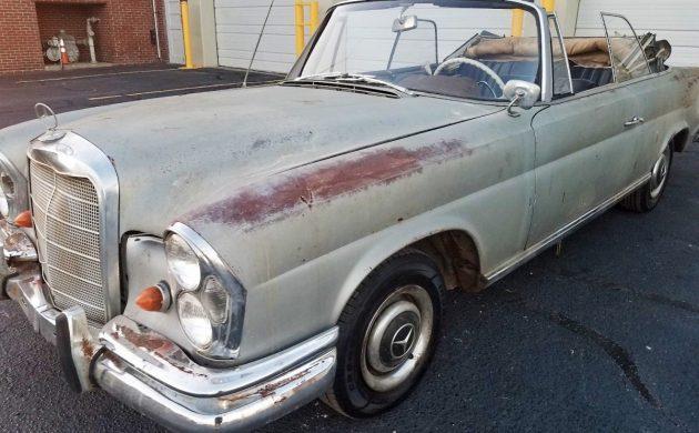 Worth Restoring: 1962 Mercedes-Benz 220SE Cabriolet