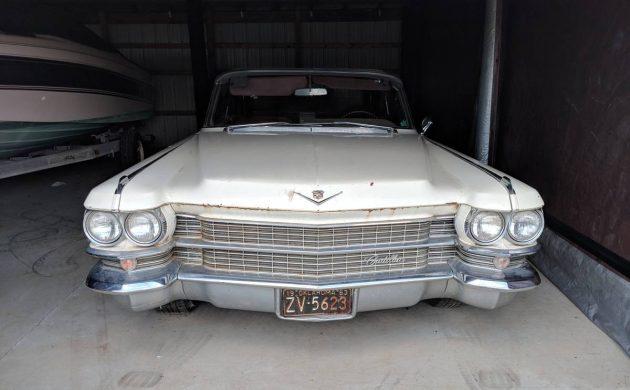 Barnyard Find 1963 Cadillac Convertible